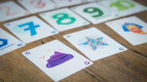 Kooz le jeu de cartes. Les cartes.